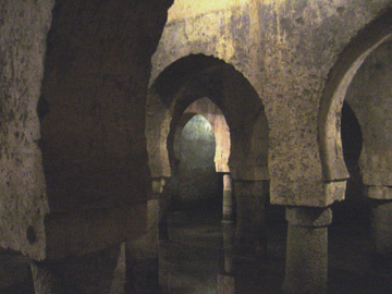 Cistern in the Museum of Caceres