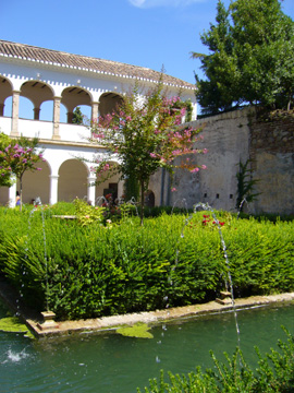 Fountains and Garden Generalife Granada