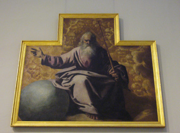 Zurbaran God the Father Seville