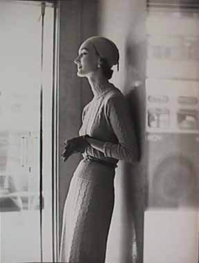 1950's Fashion Photo Frances Pellegrini