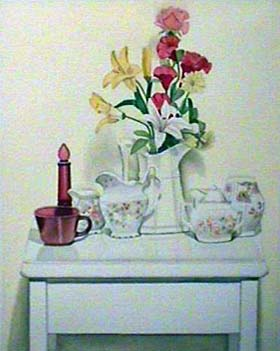 Laura SHECHTER Watercolor Flowers