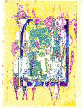 Diane HOLLAND Intermedia Graphic Palimpsestic Metanoia 1