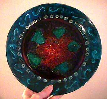 Cynthia Capriata Glass Plate