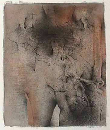 Cataline Chervin ink wash drawing Images 1998 