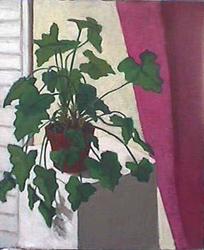 Kate Wattson still life Plant Light