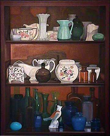 Laura SHECHTER still life painting 44 Objects