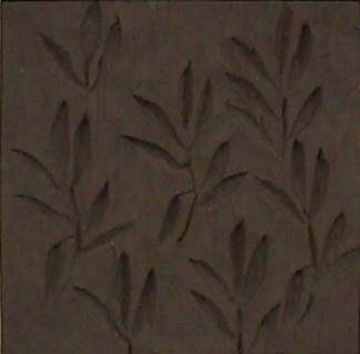 Nancy Azara wood carved panel Leaves