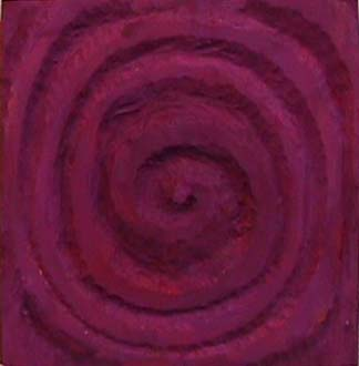 Nancy Azara wood carved panel Spiral