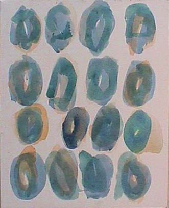 Nancy Van Deren abstract painting Independent Ovals><P></TD>   </TR></Table>  <TABLE width=