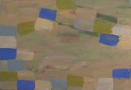 Nancy Van Deren painting Swimming Hole
