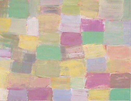 Nancy Van Deren painting Upstate Spring