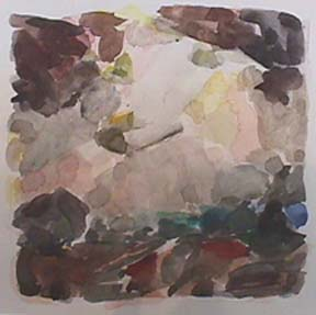 Nancy Van Deren watercolor Grey Skies