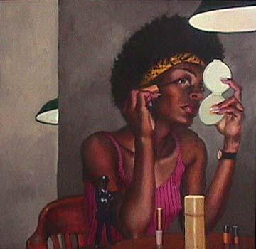 Sigmund Abeles black actress portrait