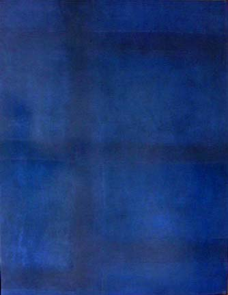 Todd Bellanca  abstract painting Blue City