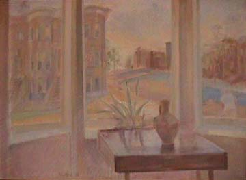 Vivian Tsao  painting Cityscape with Arabian Pitcher