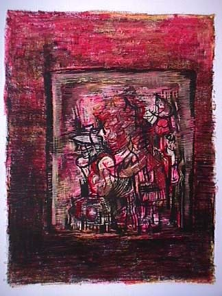 Catalina Chervin painting Untitled Hot