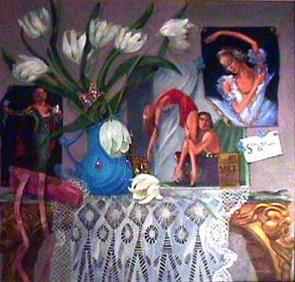 Bolshoi ballet painting Gerlind Von Lwowski