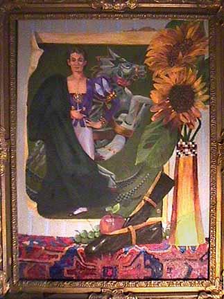 Fernando Bujones ballet painting Gerlind Von Lwowski
