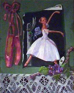 Susan Jaffe ballet painting Gerlind Von Lwowski