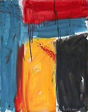 James Burnett abstract painting Wilber Flats 7