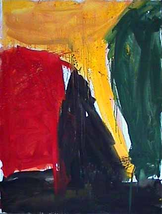 James Burnett abstract painting Wilber Flats Twister