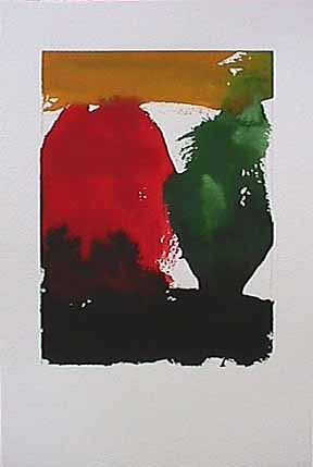 James Burnett abstract painting on paper Wilbur Flats AE2