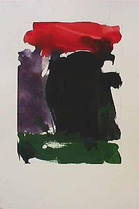 James Burnett abstract painting on paper Wilbur Flats AE4