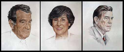 Joan Berg Victor portraits