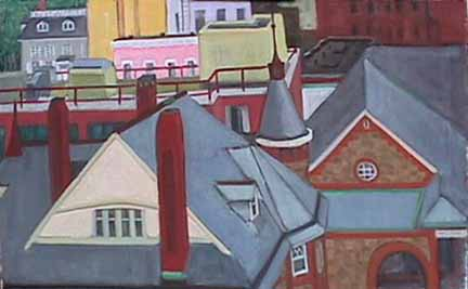 Kate Wattson cityscape Fairy Tale View