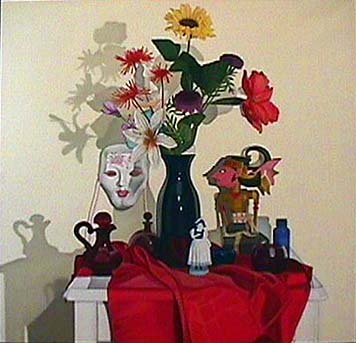 Laura SHECHTER Still Life with Porcelain Mask