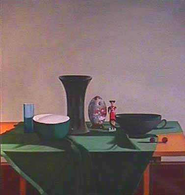 Laura SHECHTER Still Life with a Ceramic Egg