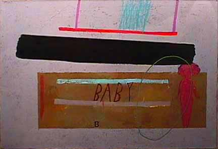 Michael Eastman painting Baby