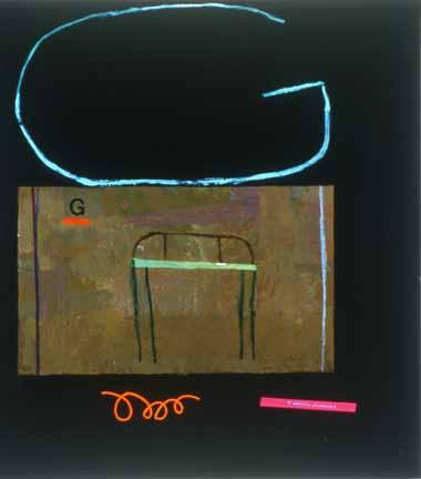 Michael Eastman painting G, Chair