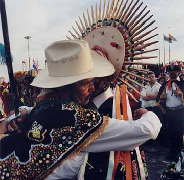 Giancoli  color photo Aztec Dancers 