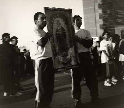 Men Honoring the Virgin of Guadalupe