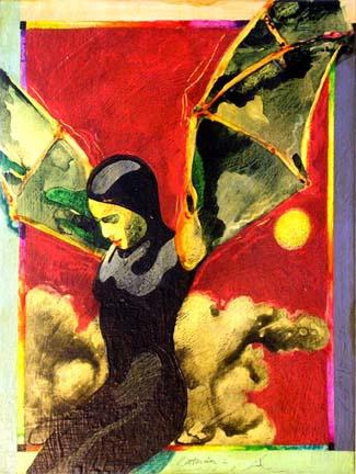 Battarina 2 fantasy painting Reed Dixon