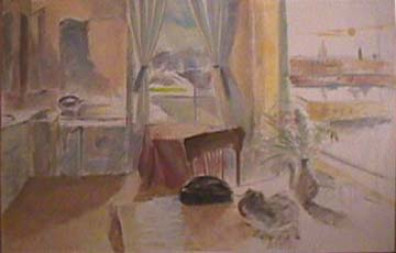 Vivian Tsao interior painting November 29