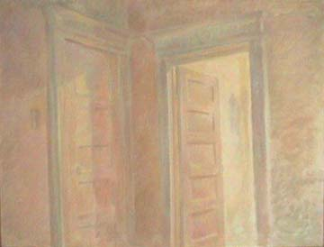 Vivian Tsao interior painting Doorway at Dusk